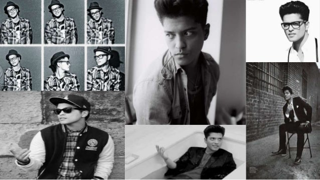 Bruno Mars é um cantor, nascido em 8 de Outubro de 1985, em Honolulu, Havai. Seu nome verdadeiro é Peter Gene Hernandez, B...