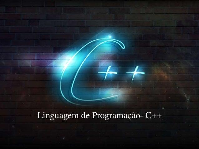 Linguagem de Programação- C++
