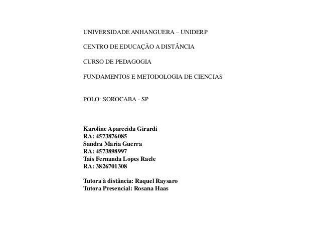Apresentação1 em formatação fund e metod de ciencias 7 semestre Slide 2