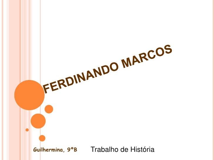 Guilhermina, 9ºB   Trabalho de História