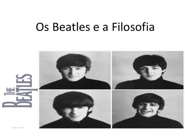 Os Beatles e a Filosofia