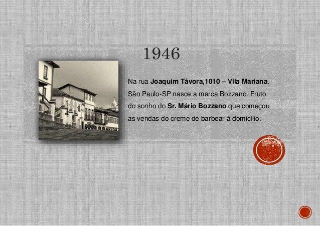 Na rua Joaquim Távora,1010 – Vila Mariana, São Paulo-SP nasce a marca Bozzano. Fruto do sonho do Sr. Mário Bozzano que com...