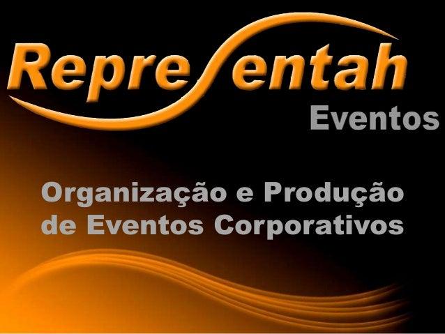 Organização e Produçãode Eventos Corporativos