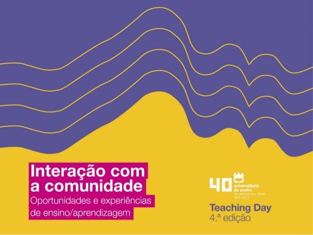 Teaching spatial planning with municipalities Paulo Silva paulosilva@ua.pt Departamento de Ciências Sociais, Políticas e d...