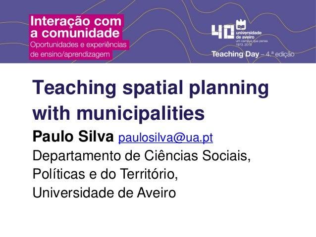 Interação com a comunidade - Paulo Silva (DCSPT) Slide 2