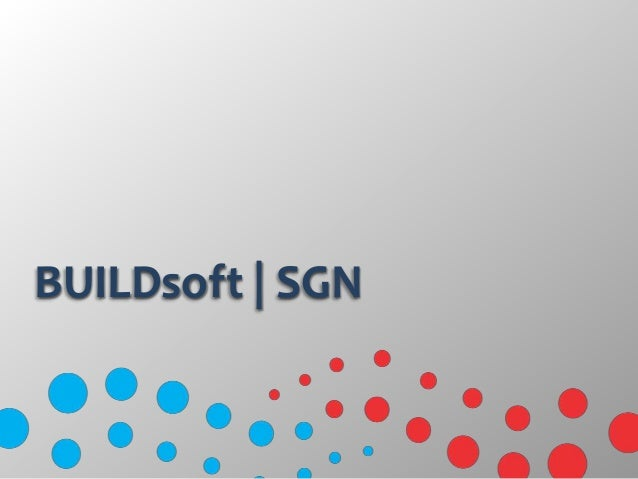 BUILDsoft | SGN