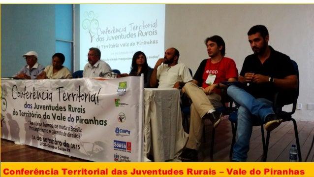 Conferência Territorial das Juventudes Rurais – Vale do Piranhas
