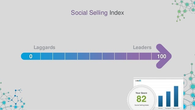 99% As measured by growth in SSI Social Selling is Growing