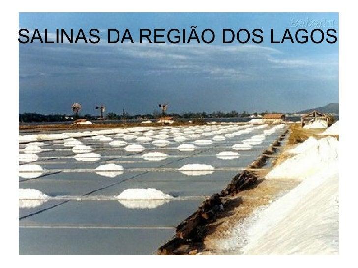SALINAS DA REGIÃO DOS LAGOS