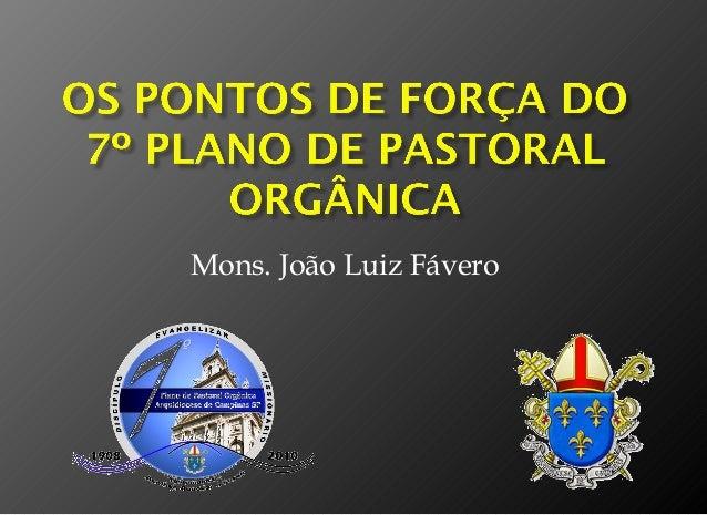 Mons. João Luiz Fávero
