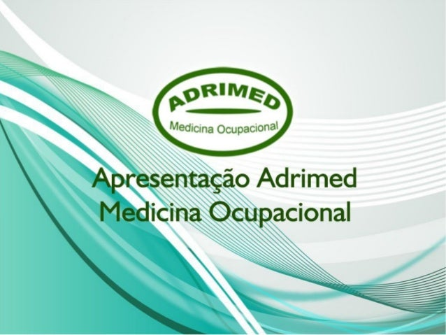 Apresentação Ad rimed  Míédicina Ocupgcional  ».