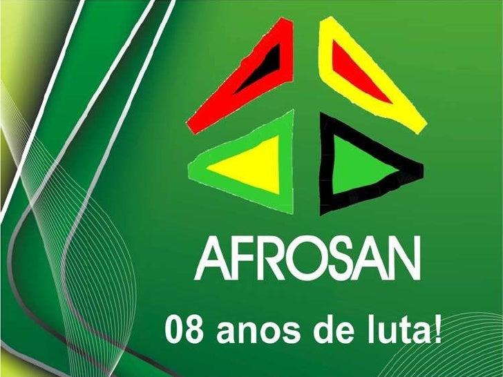 Afrosan - Associação Cultural dos Afrodescendentes da Baixada Santista