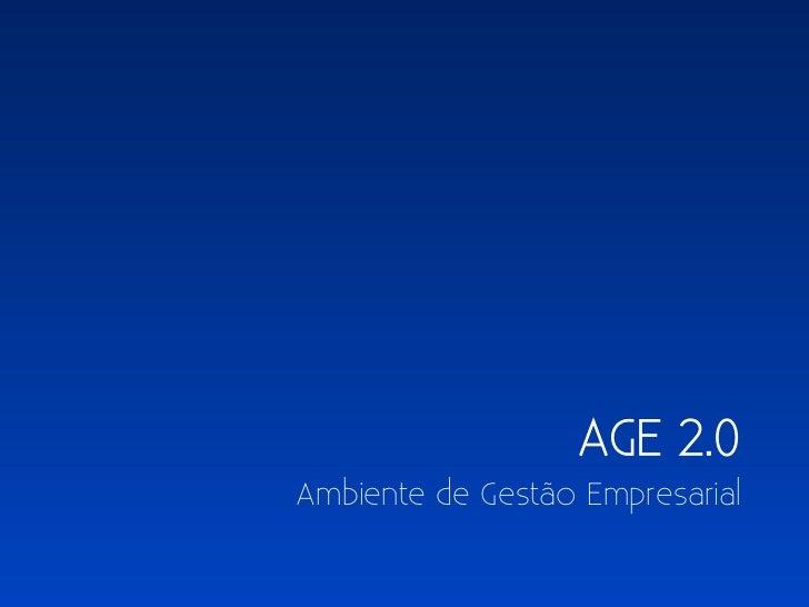AGE 2.0Ambiente de Gestão Empresarial