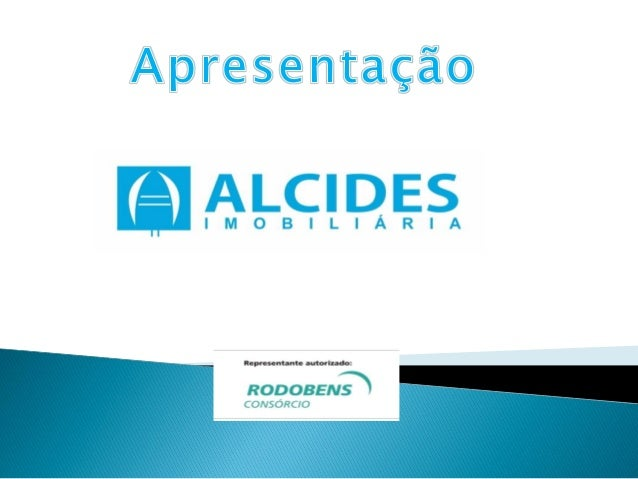  Sou Alcides José dos Santos, Sócio e Diretor da Alcides Imobiliária e Pós Graduando em Controladoria e Finanças e Curso ...