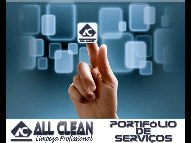 Apresentação all clean