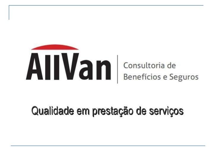Qualidade em prestação de serviços