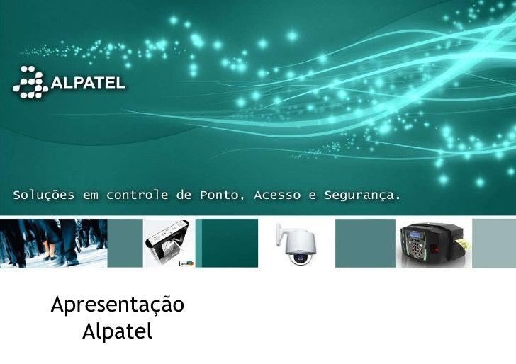 Apresentação Alpatel