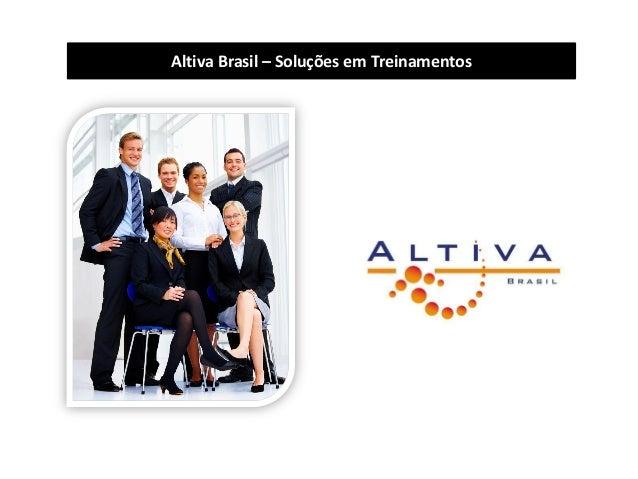 Altiva Brasil – Soluções em Treinamentos
