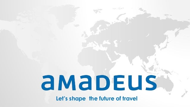 Let's shape the future of travel