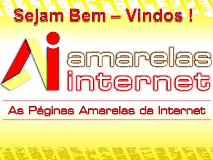 Apresentação amarelas internet