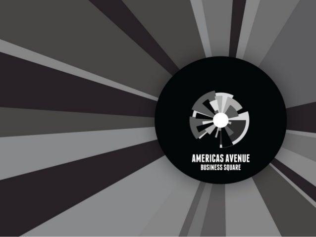 PERSPECTIVA AÉREA – AMÉRICAS AVENUE