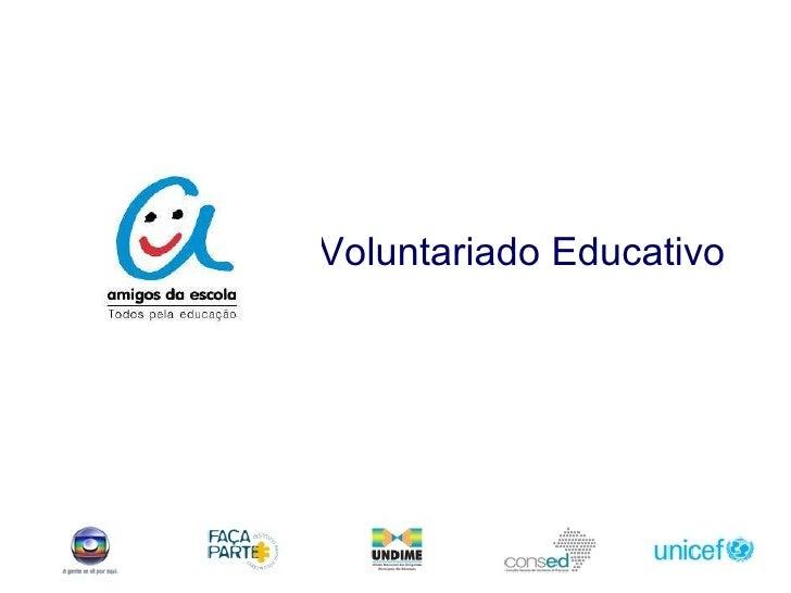 Voluntariado Educativo