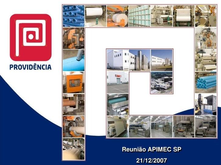 Reunião APIMEC SP     21/12/2007
