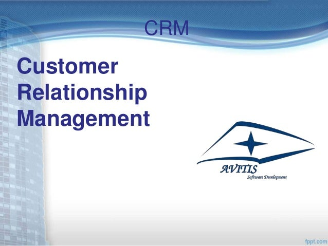 CRMCustomerRelationshipManagement