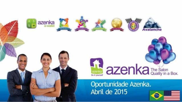 Apresentação azenka 2015
