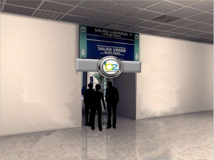 Jantar</li></li></ul><li>RECEPTIVO   AEROPORTOS SÃO PAULO<br />Uma equipe recepcionará os convidados no aeroporto e encami...