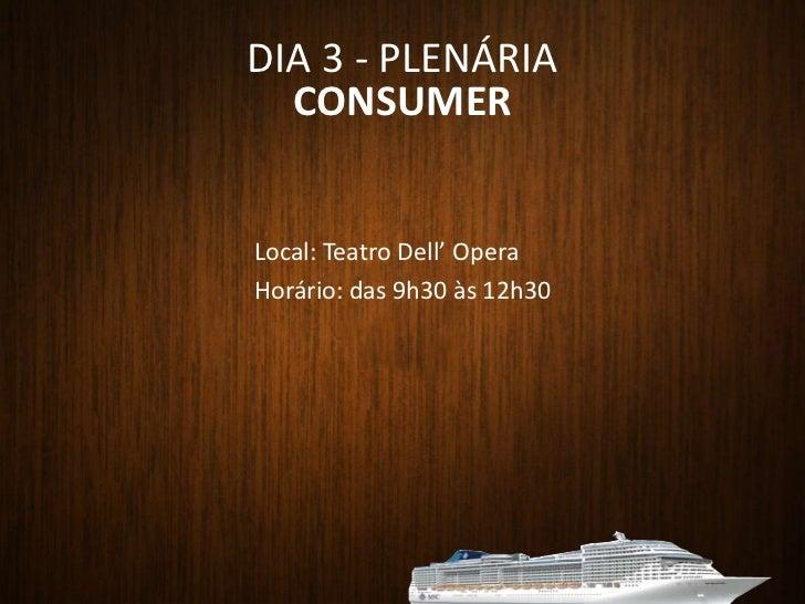 DIA 2 - ILHABELA<br />Business<br /><ul><li> Café da Manhã