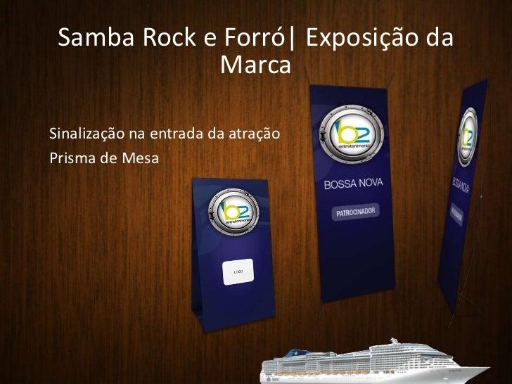 SHOW DE ABERTURA<br />Local: Deck da Piscina<br />Horário: das 21h30 às 23h00<br />Discurso de abertura Luca Luciani<br />