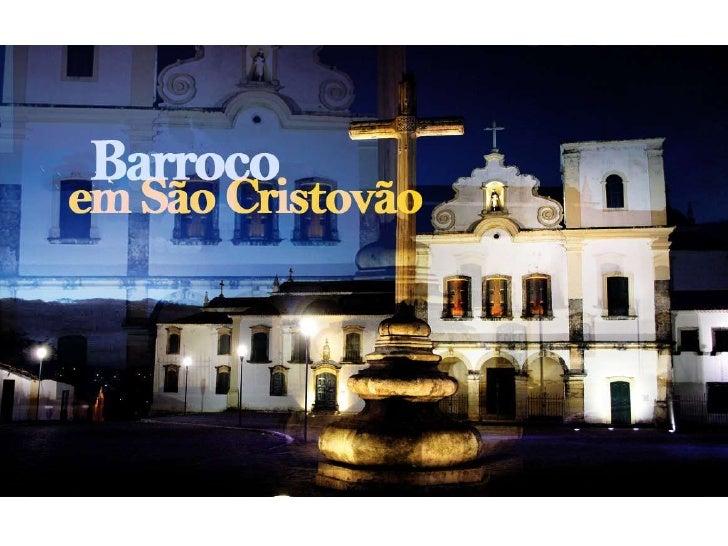 """Apresentação """"Barroco em Sergipe"""""""