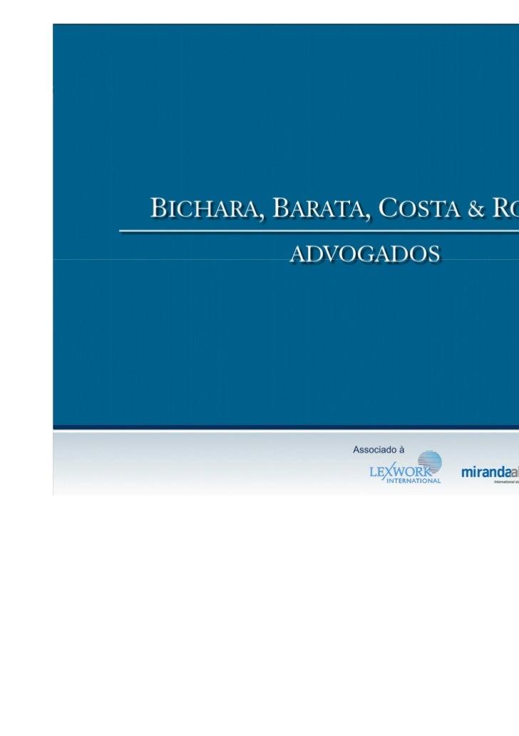CASE  BICHARA, BARATA, COSTA & ROCHA ADVOGADOS, UMA ESTRATÉGIA DE SUCESSO PARA O CRESCIMENTO               DE UM ESCRITÓRI...
