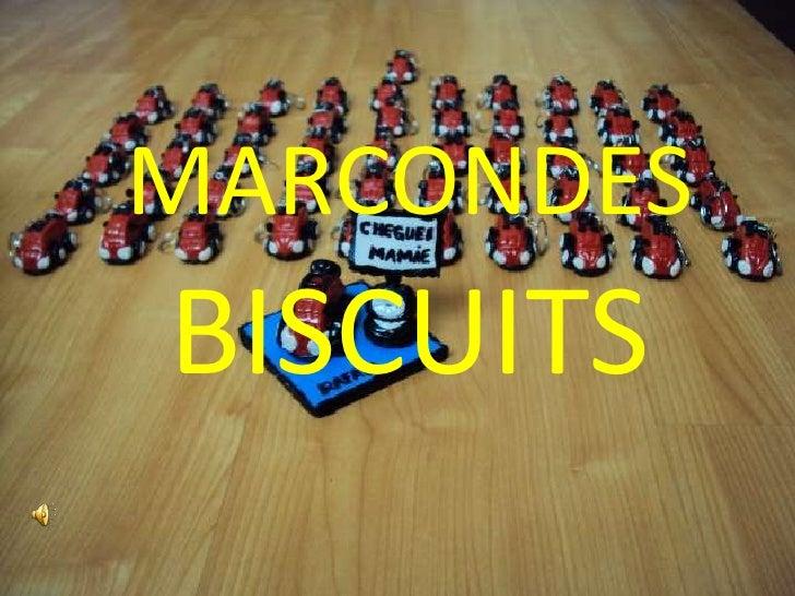 MARCONDES BISCUITS