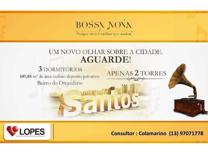Consultor : Colamarino  (13) 97071778