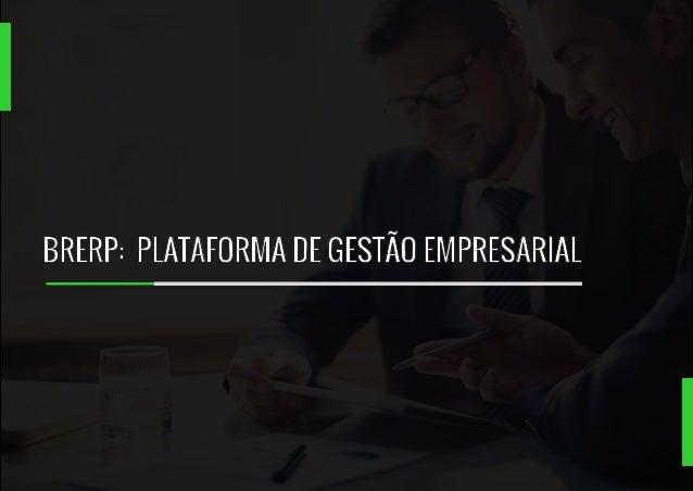 BRERP:  PLATAFORMA DE GESTÃO EMPRESARIAL