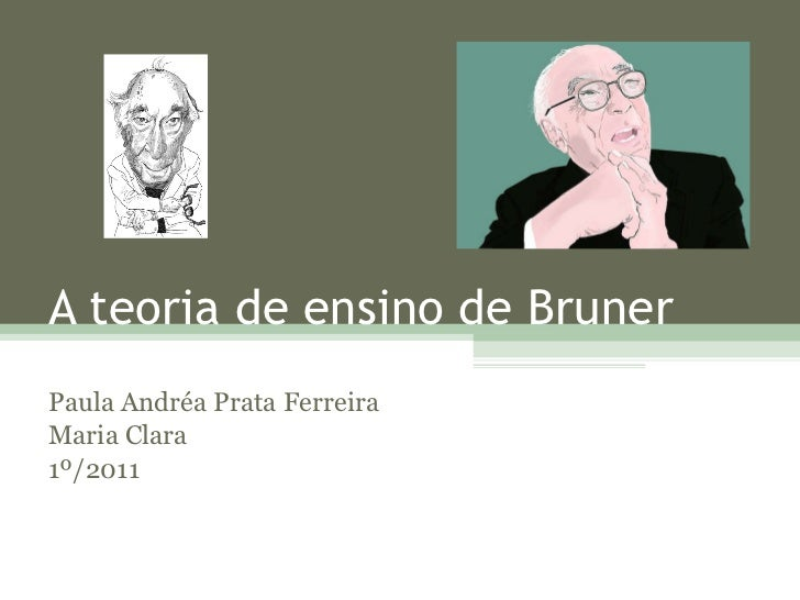 A teoria de ensino de Bruner Paula Andréa Prata Ferreira Maria Clara 1º/2011