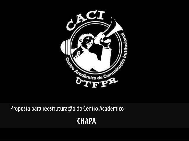 Apresentação CACI 2014