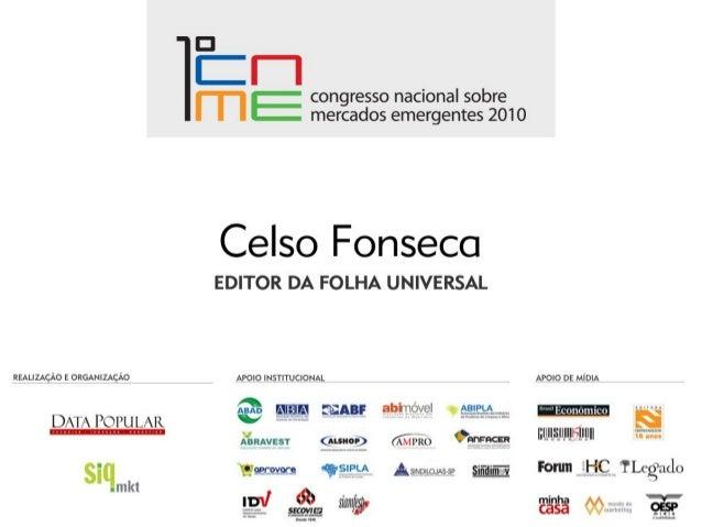 Apresentação Celso Fonseca - Folha Universal