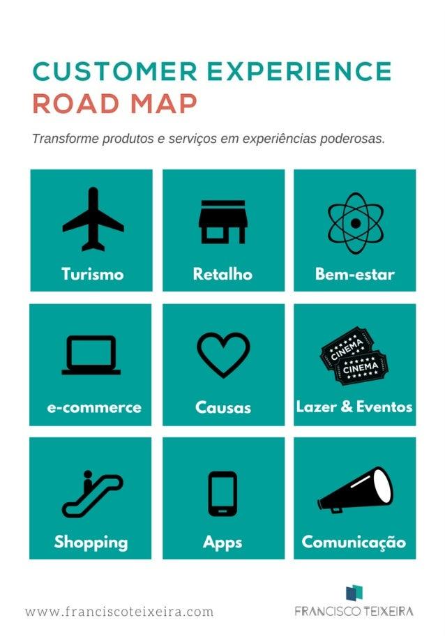 UMA NOVA FERRAMENTA DE MARKETING O Customer Experience Road Map é um modelo de gestão de experiências, que ajuda as empres...