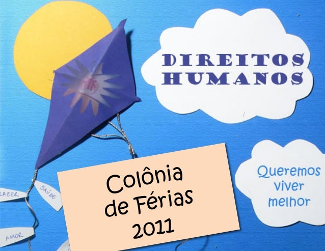 Colônia de Férias 2011
