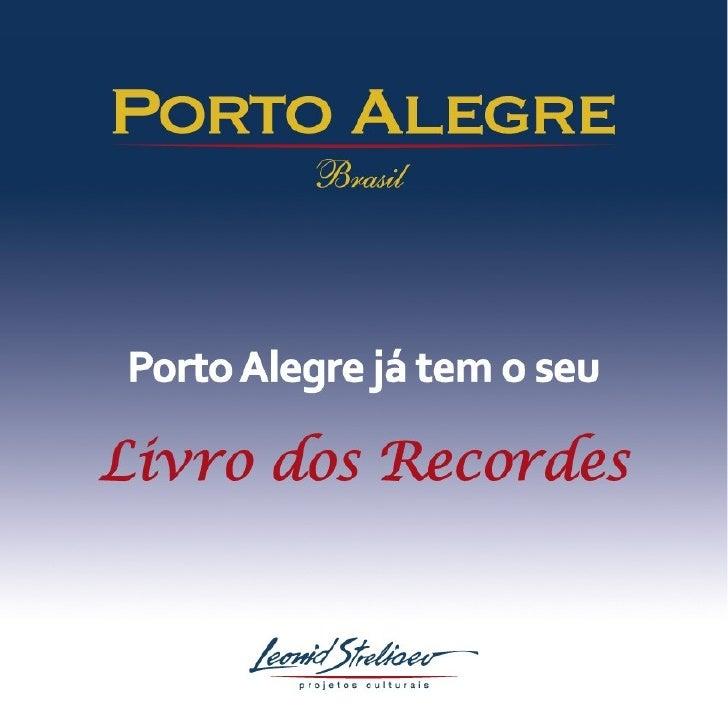 Apresentação Colunistas Livro Porto Alegre