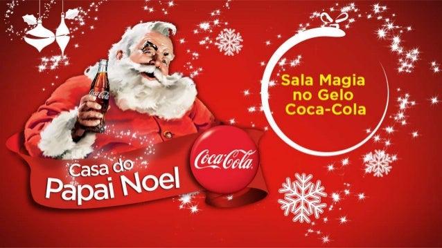 Apresentação colunistas - Sala Magia no Gelo - Coca-Cola