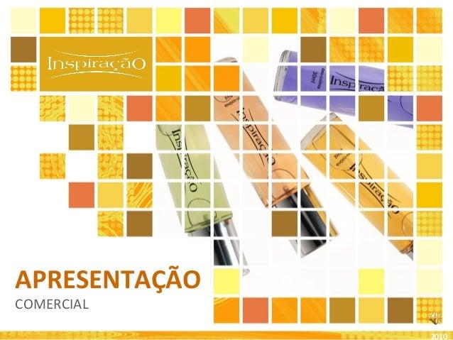 APRESENTAÇÃO COMERCIAL 2010
