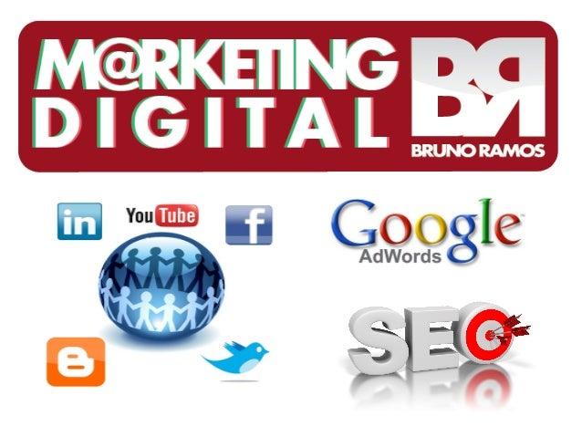 O que é marketing digital?     É o mesmo marketing de sempre,       porém, adaptado ao ambiente                 digital.