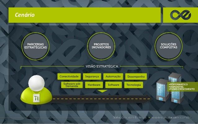 Cenário Sua parceria estratégica, inovadora e completa começa com a