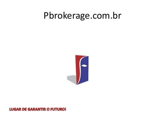 Pbrokerage.com.br