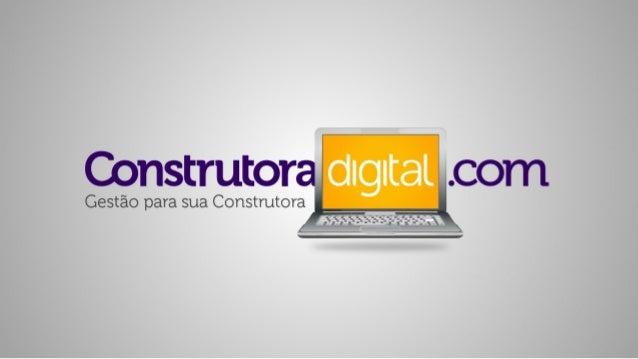 Apresentação Construtora Digital - by WorkOffice & RochWorks