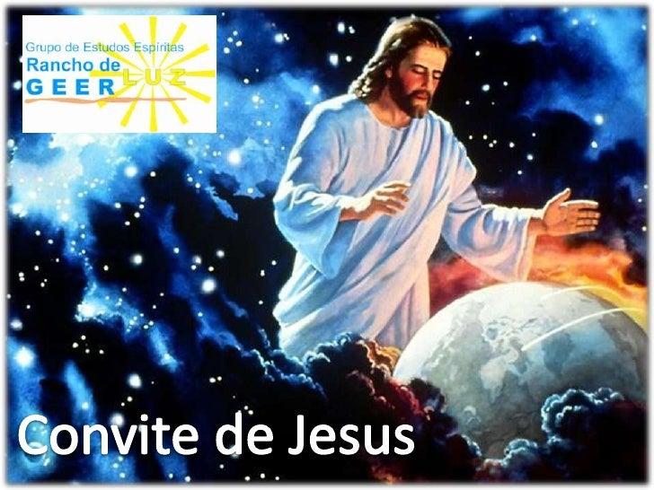 Convite de Jesus<br />